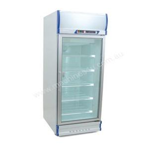 Anvil Aire GDJ0640 Single Glass Door Upright Display Fridge – 520Lt