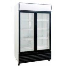 Saltas DFS1000 Double Glass Door Uprite Fridge 1000 Litre
