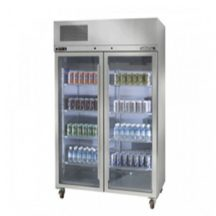 WILLIAMS HPS2GDSS 2 Glass Door Upright Pearl Star Display Fridge