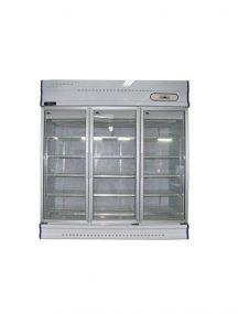 Anvil Aire GDJ1881 Three Glass Door Upright Display Freezer – 1500Lt