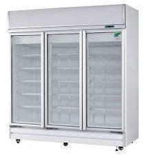 Artisan M1103 3 Door Fridge with Lightbox