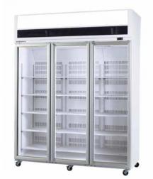 SKOPE VF1500 3 Door Display Freezer White Colour-Bond