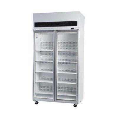 SKOPE VF1000SS 2 Door Stainless Steel Display Freezer