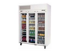 Williams HR3GDCB 3 Door Ruby Display Fridge