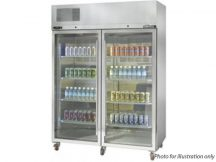 WILLIAMS HDS2GDSS 2 Door Upright Diamond Star Display Fridge