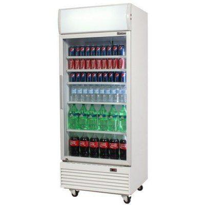 BROMIC GM0660L LED ECO WHITE FRIDGE With LIGHTBOX