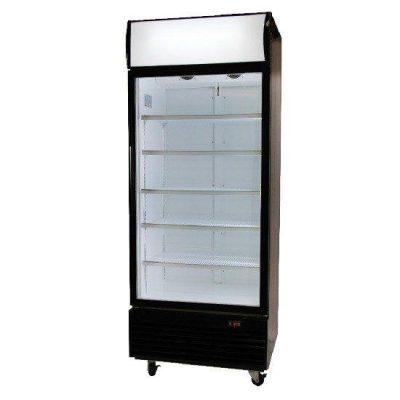 BROMIC GM0660L LED Black Glass Door 660L Display Chiller