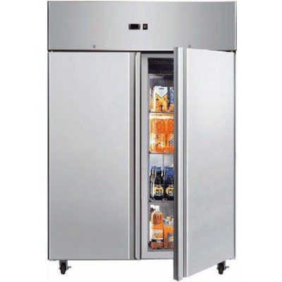 BROMIC UC1300SD 1300L Stainless Steel Gastronom 2 Door Storage Chiller