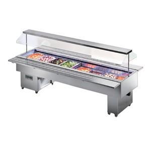 Tecfrigo ISOLA VT INOX 6M Salad Bar