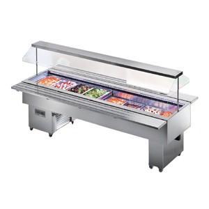 Tecfrigo ISOLA VT INOX 8M Salad Bar