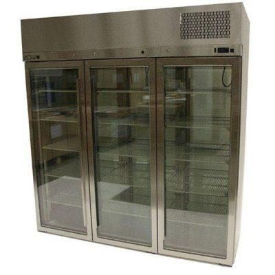 Williams HR3SDSS Ruby 3 Door Display Fridge