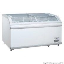 FED WD-700 Sliding Glass Lid Chest Freezer 700 Litre