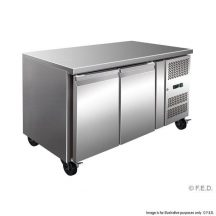 F.E.D GN2100BT TROPICALISED 2 Door BENCH Gastronorm Bench Freezer