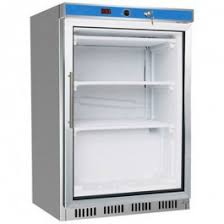 F.E.D HF200G S/S Display Freezer