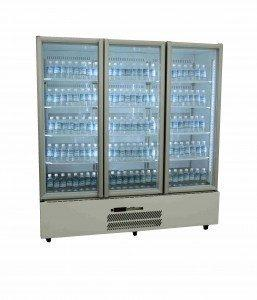 Williams HQS3GDCB Quartz Star 3 Door Display Fridge – Colourbond