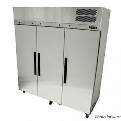 WILLIAMS LRS3SDSS 3 door Ruby upright storage freezer stainless steel