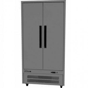 WILLIAMS HQ28SDSS Quartz 2 door solid door upright storage fridge.