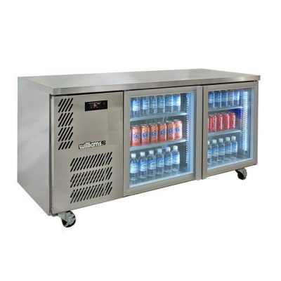 WILLIAMS HBS2UGDSS 2 DOOR DISPLAY BACK BAR