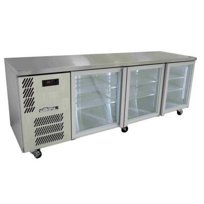 WILLIAMS HBS3UGDSS 3 DOOR DISPLAY BACK BAR