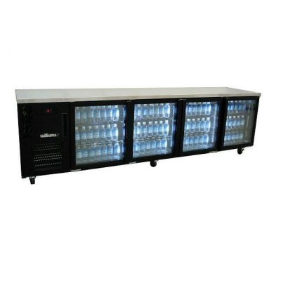 WILLIAMS HCS4UBFGDCBB 4 DOOR DISPLAY BACK BAR