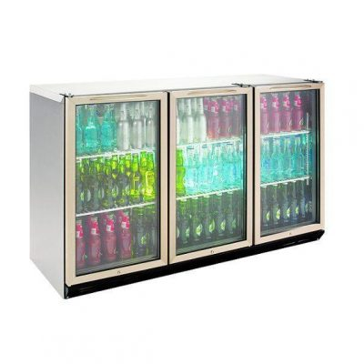 Williams BC3SS-80 3 Door Display Bottle Cooler 80CM High