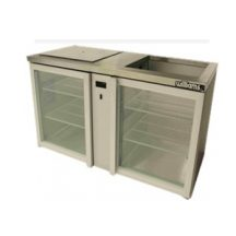 WILLIAMS GC2RGD Two Door Shelf Load Remote Glass Chiller