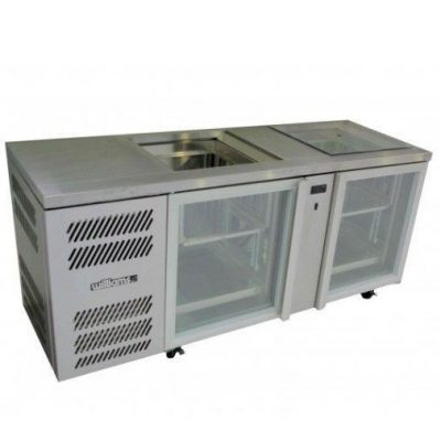 WILLIAMS GC2UGDSL Two Door Glass Chiller