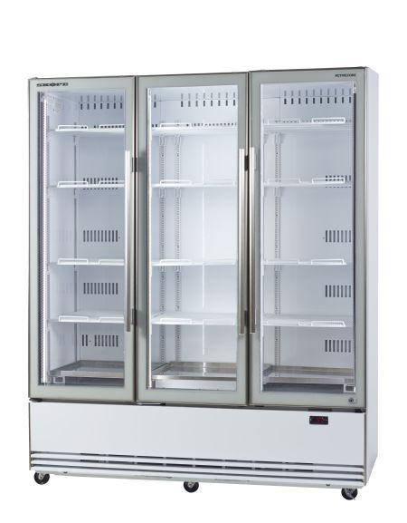 SKOPE BME1500-Active Core 3 Door Display Fridge