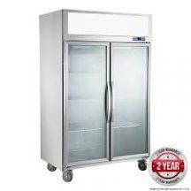 F.E.D SUFG1000 Two Door Upright Display Freezer