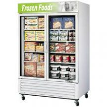 SKIPIO SGF-49(W) Two Door GLASS DOOR MERCHANDISER FREEZER