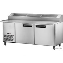F.E.D PPB/21 three door DELUXE Pizza Prep Bench