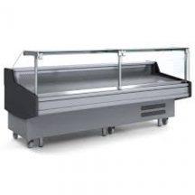 DD0250SG Square Glass Delicatessen Display
