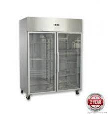 F.E.D GN1200BTG GRAND ULTRA Two Glass Doors Upright Freezer 1200L