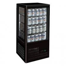 F.E.D TCBD78B 78Litre Four-Sided Countertop Display Fridge