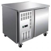 F.E.D TS900TN - 900mm wide 600mm deep S/S Single Door Workbench Fridge