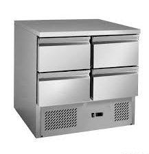 GNS900-4D 4 drawers S/S benchtop fridge Litre: 220