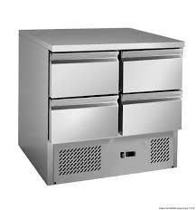 GNS900-4D 4 drawers S/S benchtop fridge Litre: 220