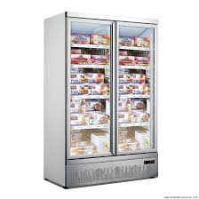 F.E.D LG-1000GBMF Double Door Supermarket Freezer