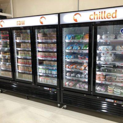 Nova Chill Refrigerated Freezer Display Cabinets