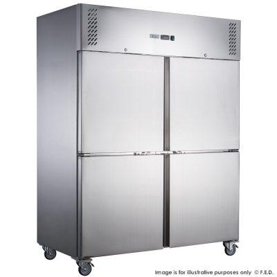 FED-XURC600S1V X S/S Single Split Door Storage Upright Fridge