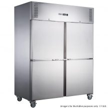 FED-XURF650S1V X S/S Two Door Upright Freezer