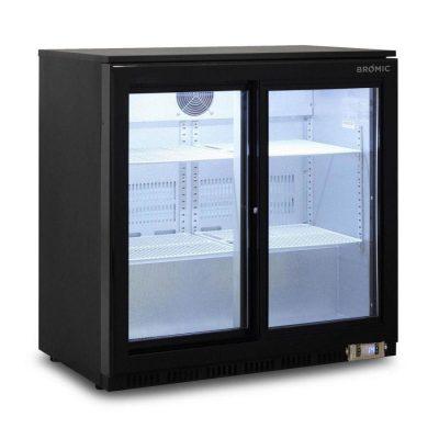 BROMIC BB0200GDS-NR Back Bar Fridge 190L (Sliding Door)