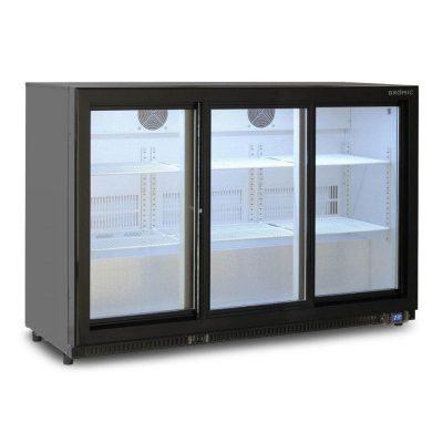 BROMIC-BB0330GDS-NR-Back-Bar-Fridge-307L-Sliding-Door
