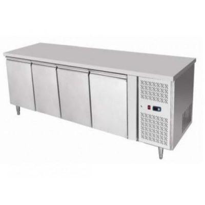 Jono JBMF510 Commercial Four Door Under Bar Bench Storage Fridges on Wheels