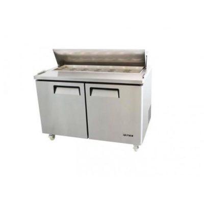 Jono JSPMD516 516L Commercial Salad Prep Two Big Door 8 x 1/3 GN Pan (Pan not included)