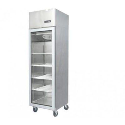 Jono JUMS450 450 Litre Commercial Display Upright One Door Stainless Fridge