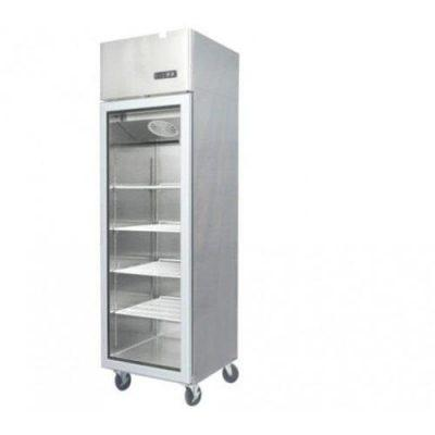 Jono JUMS700 700 Litre Commercial Display Upright One Door Stainless Fridge