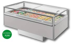 SVABA LIDS Island Freezer