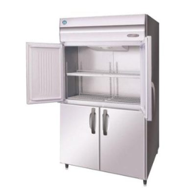 Hoshizaki HRE-127B-AHD-ML Pillarless 2 Door Upright Refrigerator