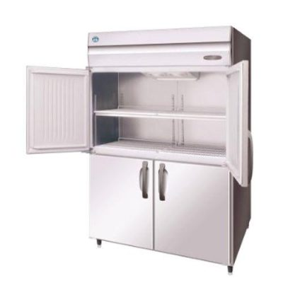 Hoshizaki HRE-147B-AHD-ML Pillarless 2 Door Upright Refrigerator